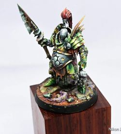Nurgle warrior from warhammer
