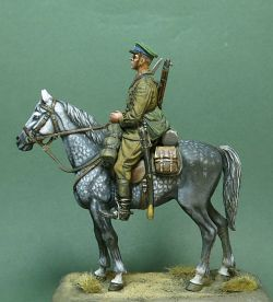 Soviet mounted boarder guard.