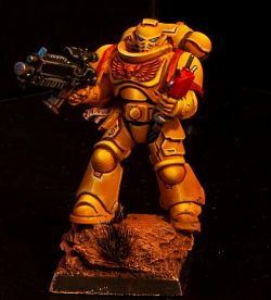 Imperial Fists Spacemarine