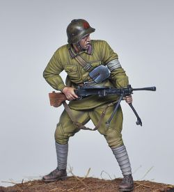 Red Army machine gunner