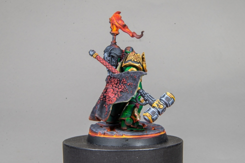Adrax Agatone, Captain of the Salamanders 3rd Company.