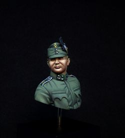 Austro-Hungarian Mountain Troop Officer WW I Bust 1/16