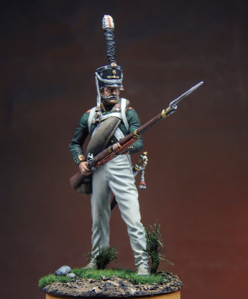 Non-commissioned officer of the Moscow grenadier regiment 1812