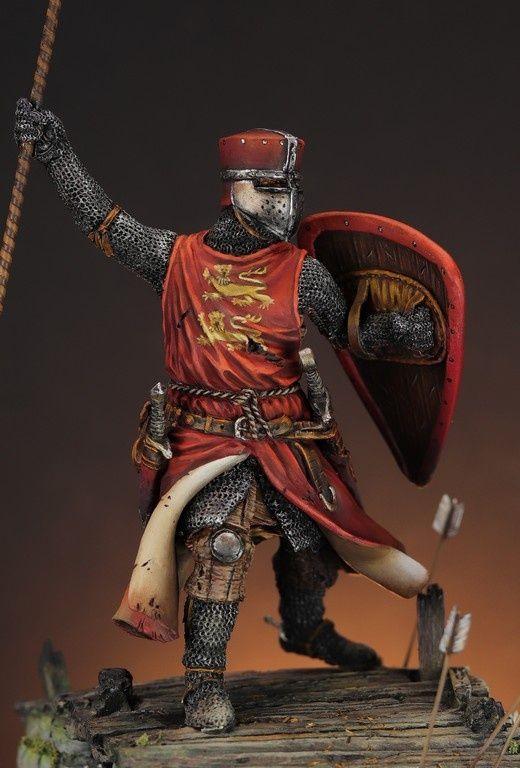 Montjoie ! Saint-Denis ! Thomas de Saint Valery - Bouvines 1214 Img_2115_-_copie__sized_l