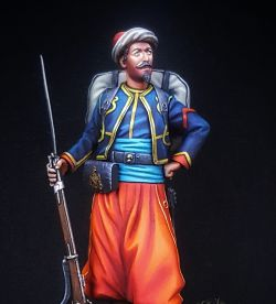 Zouave of the Imperial Guard