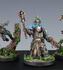 Inquisitor Draxius with Honorguard Retinue