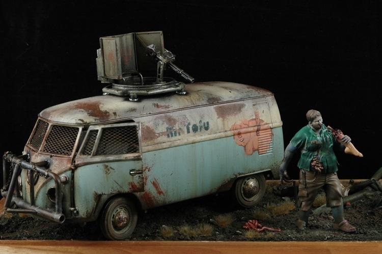 Car Paint Colors >> VW Zombie Van by John Keys aka megazord_man · Putty&Paint