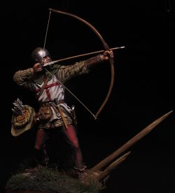 English archer. 100 years war