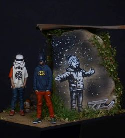 The Mask Polo Gang, Banksy tribute