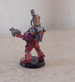 Spacemarine  In Pink