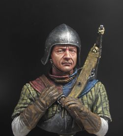 Medieval Crossbowman by Legion Miniatures As part of a friendly battle