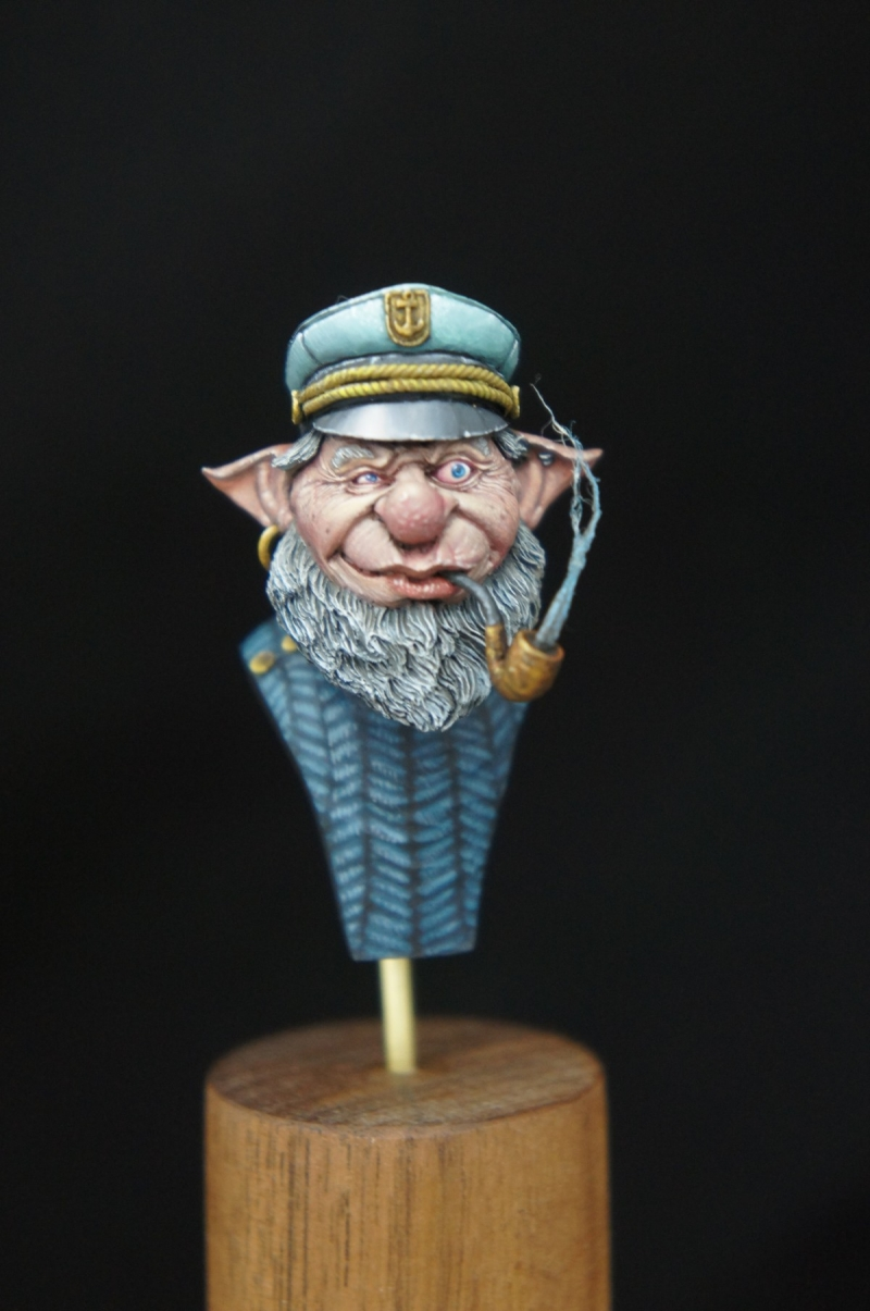 The Old Captain—(Blcaksmith—miniatures)