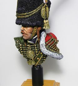Officer of the Chasseurs a Cheval of the Imperial Guard 1805/1815