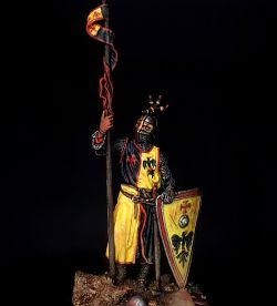 54mm European Knight Early 13th Century vignette