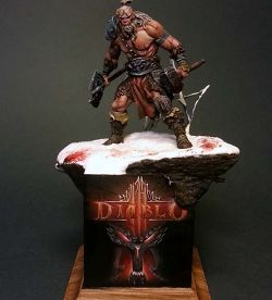 The barbarian - Scale 75 - Diablo III v.