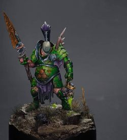 Nurgle Champion of Chaos