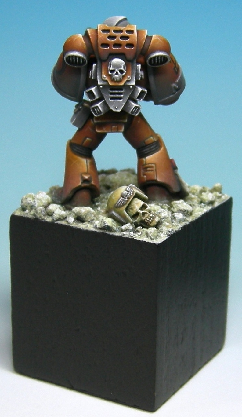 Orange Space Marine