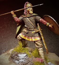 Frankish Warrior, 5th Century