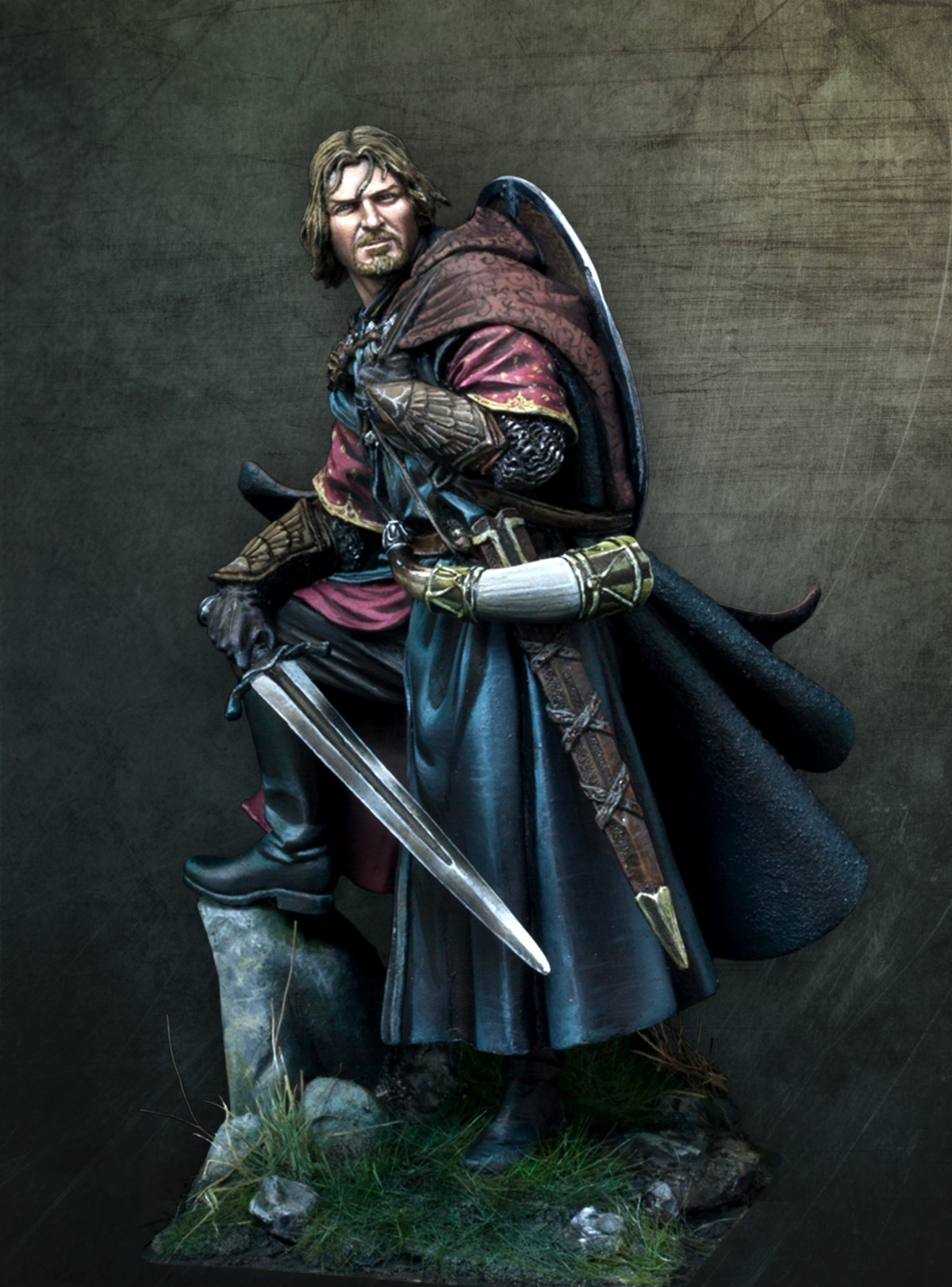Boromir Official Artbox By Alfonso Giraldes Banshee