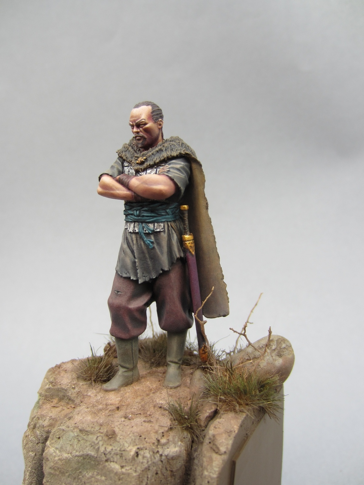 Attila the Hun by Sander vd Does · Putty&Paint