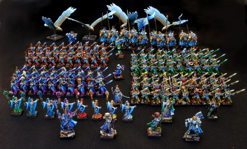HIGH ELVES ARMY