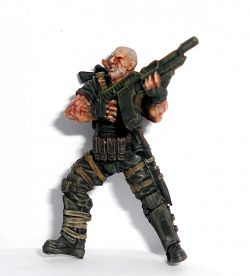 Sarge-like predator figure