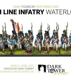 French Line Infatry by Perry Miniatures (28 mm)