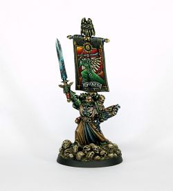 Azrael Supreme Grand Master of the Dark Angels in 28mm scale