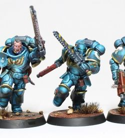 Space Marien Unit Warhammer 40k Ultramarine