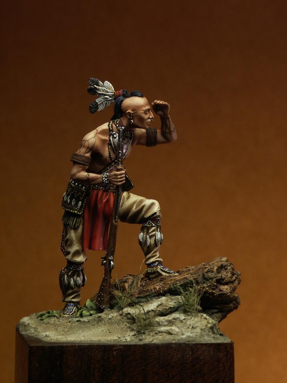 Mohawk Warrior 2 By Francesca Fiocca Quot Ludilla Quot 183 Putty Amp Paint