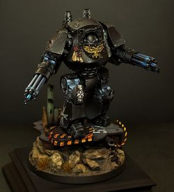 Black Templar venerable dreadnought