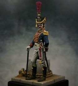 Officer of the Navy Guard - Kingdom of Naples