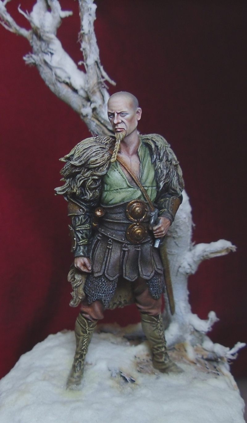 Saxon Warrior By Davidmitchell 183 Putty Amp Paint