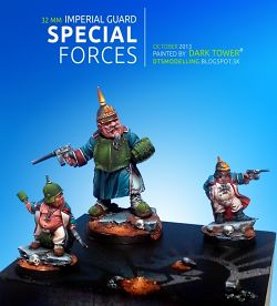 IMPERIAL GUARD SPECIAL FORCES: Ogryn Manfred Von Lefthoffen & Prussian Dwarfs