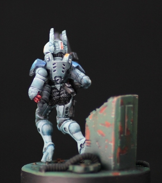 Pan Oceania Soldier from Infinity