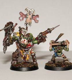 Ork Painboy with Grotorderly GW