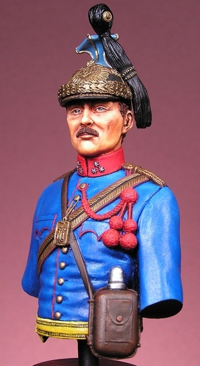 Austrian Uhlan Officer 1910 By Jim Johnston 183 Putty Amp Paint