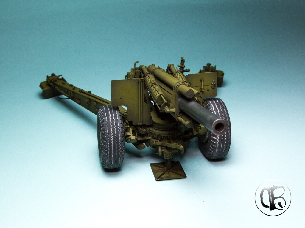 US 155mm Howitzer M1A1 by Petros ''Dirty Brushes'' Fotiadis