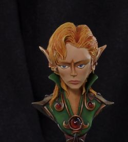 Female Elf Bust (March 2013)