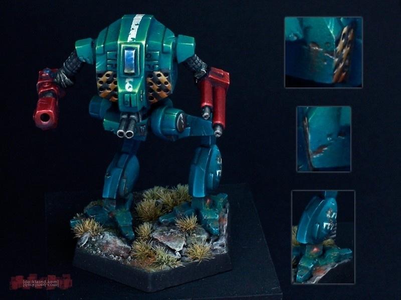 Avatar Battlemech 1 285 Scale By Michael Quot Gunjinokanrei