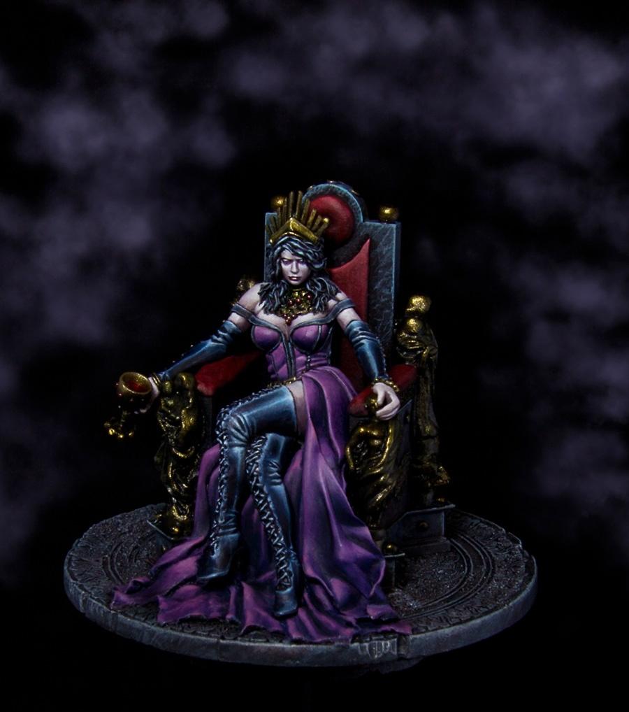 "Sti For Sale >> Vampire Queen - M. Kontraros Boxart by Francesco ""Franciuus"" Farabi · Putty&Paint"