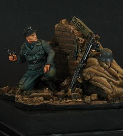 Last Defense 1944, German Soldier Aufklarungs, Pegaso Models (PT-003) Platoon Series 1/35