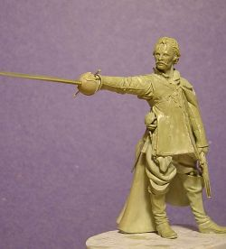 "Original for Elite Miniatures, 2007. ""El Capitán Alatriste"""