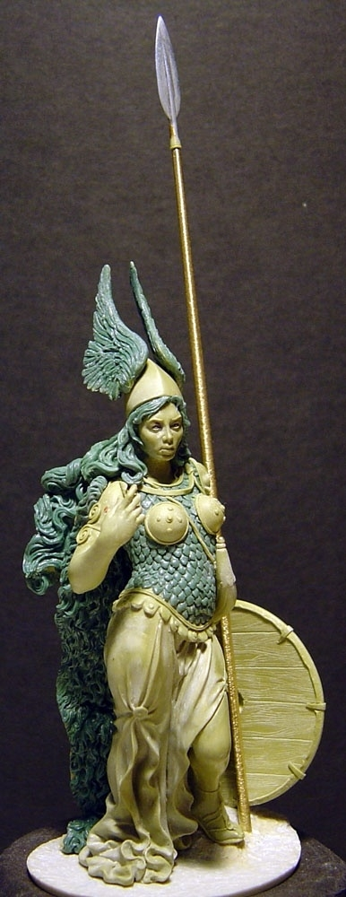 "Original for Alexandros Models 2009. ""Brunhilde the Walkyrie"""