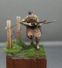 London Scottish, Messines 1915