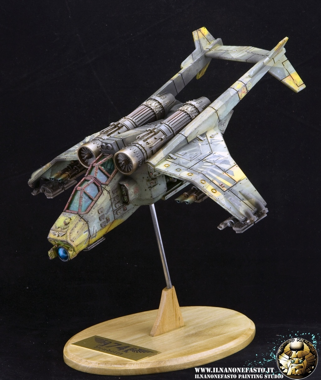 Wh40k Valkyrie 74th Vendetta By Giovanni Bosio 183 Putty Amp Paint