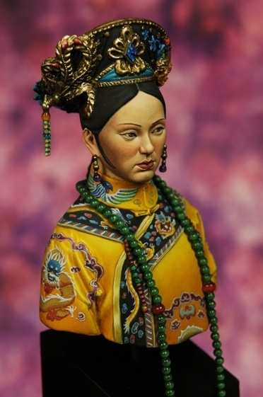 Empress Zhen Huan of Chinese Qing Dynasty