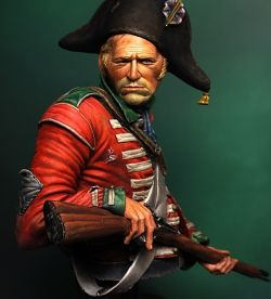 Napoleonic British Heavy Dragoon Bust
