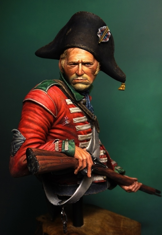 Napoleonic British Heavy Dragoon Bust By Anson 183 Putty Amp Paint