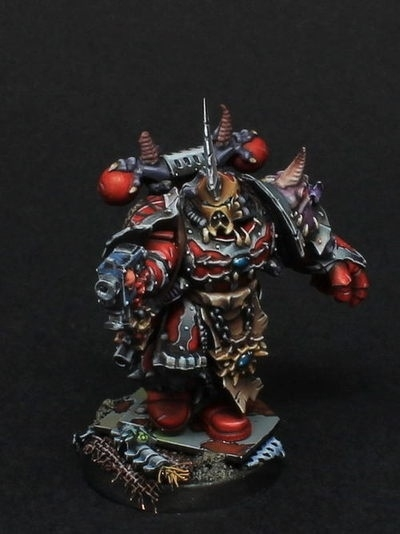 Chaos Space Marines Chosen By Łukasz Zulus Mazur 183 Putty